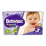 Pañales Babysec Premium Flexiprotect G 8.5- 12kg X 44 U.