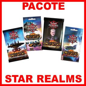 Pacote Star Realms - Com 4 Pacote De Expansão