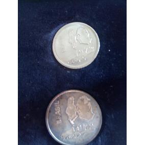 3 Moedas Comemorativas Sesquicentenário 1972