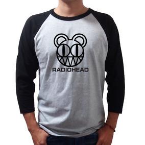 Radiohead Playera Rock Raglan -envio Gratis