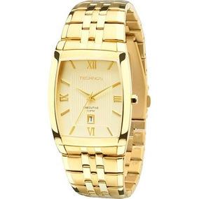 Relógio Masculino Dourado Technos 1n12mp/4x