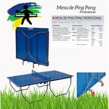 Mesa Ping-pong Profesional