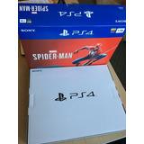 Nuevo Ps4 Pro Spiderman Edition Rojo Y 10 Juegos