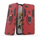 Pack Case Soporte Xiaomi Mi8 Lite + Mica Vidrio Templado