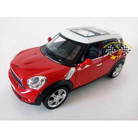 Miniatura Mini Cooper S Countryman Vermelha 1:32 Rmz Raridad