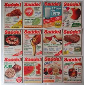 Revistas Antigas Saúde Ano Completo De 1988 - Frete Grátis