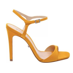 Sandália Schutz Salto Alto Amarelo New Sunshine 020520044000