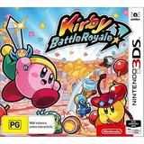 Kirby Battle Royale Nintendo 3ds 2ds Videojuego Sellado
