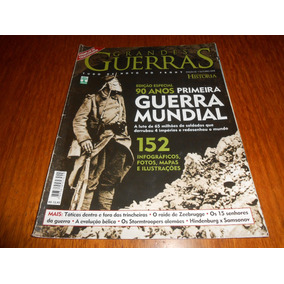 Revista Aventuras Na Historia: 90 Anos Da 1 Guerra Mundial.