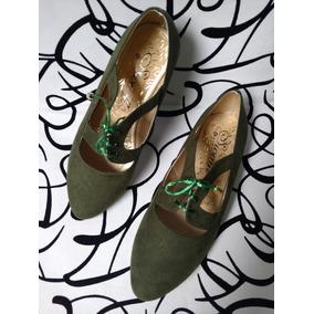 Zapatos Envío Planos Mujeres Baletas Bambinas Gratis Verde gqFrwgf