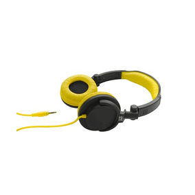 Auricular Dj Con Bajo Amarillo One For All Sv5612