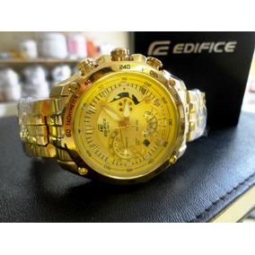 5ce64d82f60 Relogio Casio Edifice Serie Ouro Masculino - Relógio Masculino no ...