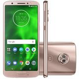 Smartphone Motorola Moto G6 Xt1925 5.7 , 64gb Ouro Rosê