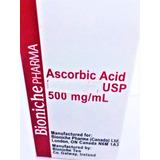 Acido Ascorbico, 2 Frascos De 50ml