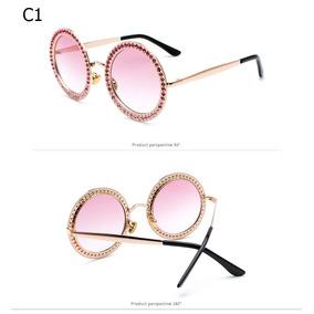 cadef582ef866 Oculos Sol Com Pedras Strass - Óculos no Mercado Livre Brasil