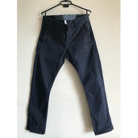 Pantalon G-star Bronson Tapered Chino Azul W32 L30