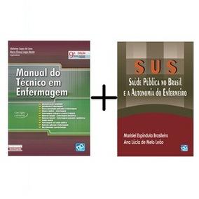 Sus Saúde Pública No Brasil + Manual Do Tec. Em Enfermagem