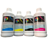 4 Tinta Litro Dye Epson Hp Brother Canon 1 Por Color