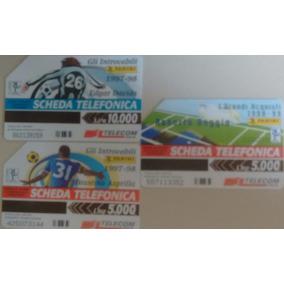 Cartão Telefônico Itália - Futebol - 97/98
