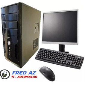 Computador Completo Novo Core 2 Duo 2gb Hd 80gb Wifi