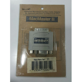 Interface Universal Macintosh Macmaster Ii Original