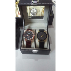 Relógio Band Geneva + Relógio Casual + Caixa Estojo P/ 2 Rel