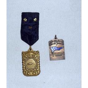 Medalhas Antigas Iate Clube Do Rio De Janeiro Anos 50 E 60.