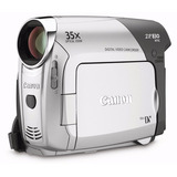 Filmadora Camara Digital Canon Zr830 Camcorder Minidv 35x