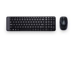Logitech Mk220 Kit Inalambrico Mouse Y Teclado Adaptador Usb