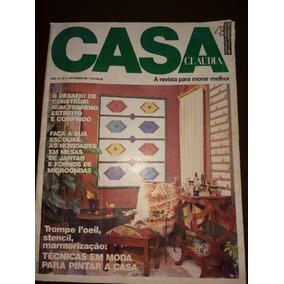 Revista Antica Casa Claudia Setembro 1990