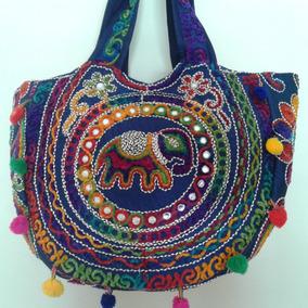 b0a2a683969 Bolsa Bordada Indiana Zara Brecho - Bolsas Femininas Azul escuro no ...