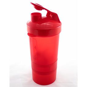 Vaso Mezclador Shaker Proteina Gym Cilindro Rojo Envio Grati