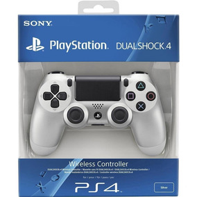 Silver Plata V2 Joystick Sony Dualshock Ps4 Playstation 4