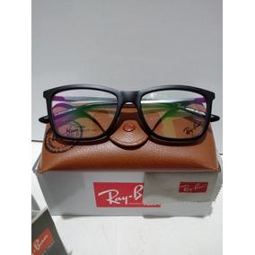 Armação Óculos De Grau Ray-ban Rb 7026l 5196 Preto Fosco 867c13d6e1