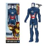 Muñeco De Iron Patriot Articulado Hasbro Titan Hero 30cm