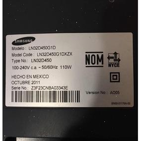 Pantalla Smart Tv 32 Samsung Ln32d450 Para Refacciones