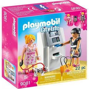 Caixa Eletrônico Playmobil Sunny 9081 22 Peças