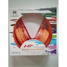 Audifonos Nia Inalambricos Q 8-851s 21d