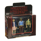 Funko Action Figure Stranger Things 3pk Eleven, Lucas Y Mike