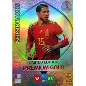 Cards Copa 2018 Adrenalyn Limited Edition Gold Sergio Ramos