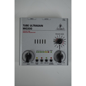 Pré Ampli Valvulado Behringer Mic-200