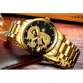 01bc52b65e8 Relogio Preto Com Strass Feminino - Relógios De Pulso no Mercado ...
