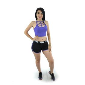 Short Deportivo Ropa Mujer Sport Correr Gym Zawq08139
