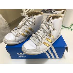 hot sales bda27 6d459 Botitas adidas Hoop Mid Talle 37 12 Usadas Casi Nuevas