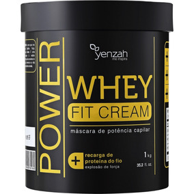 Yenzah Power Whey Fit Cream - Máscara De Reconstrução 1kg
