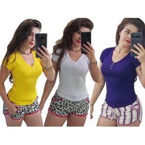 Kit C/ 10 Blusinhas Basicat-shirts Atacado Revenda Promoção