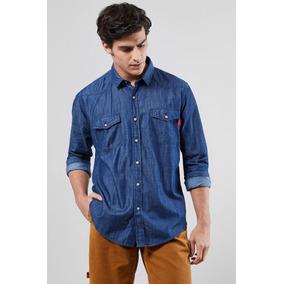 Camisa Jeans Masculina Reserva - Camisa Manga Longa Masculino no ... db93136a1f944