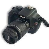 Camara Canon Rebel T5 Con Objetivo Extra Y Envio De Regalo