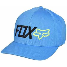 Gorra Fox Trenches Flexfit Hat Talla S/m Azul