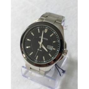 d359c8789f1 Relógio Masculino Prata Gold G-3197 Atlantis Style Original